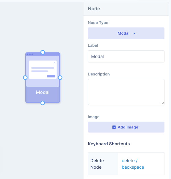 User flow details panel shows more information about selected node or path on UserBit